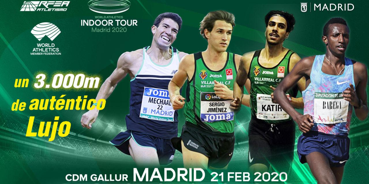 Barega and Bekele top Madrid's 3000m world class field