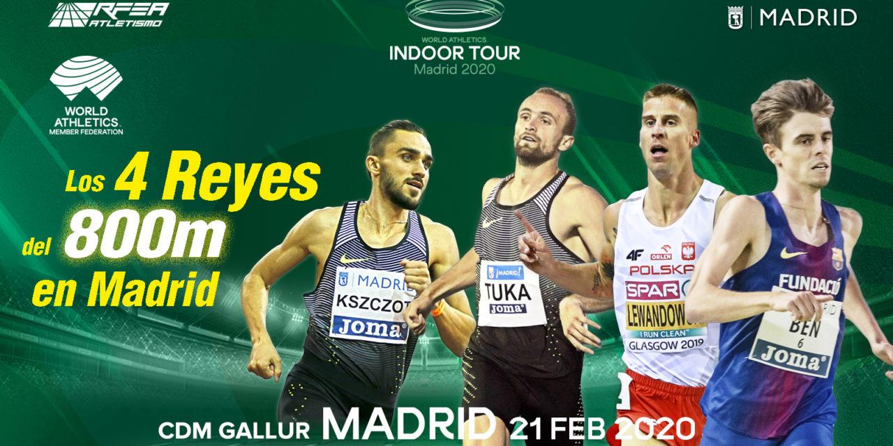Kszczot and Lewandowski to face Spain's rising star Adrián Ben in 800m