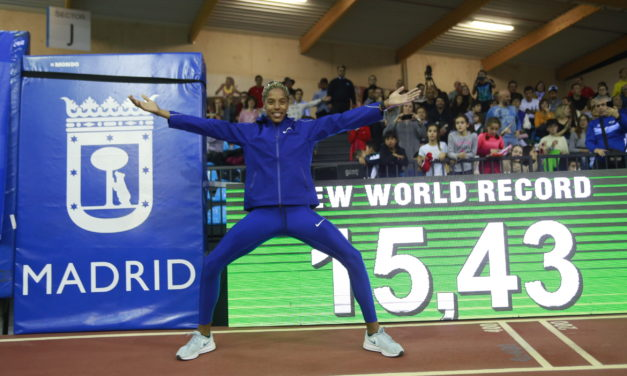 Unbelievable Madrid! – Yulimar Rojas breaks world indoor triple jump record with 15.43m