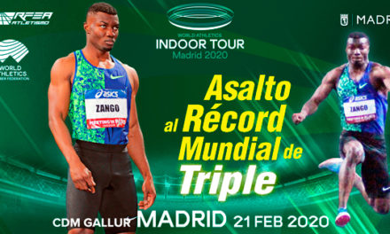 Zango targets the world triple jump record