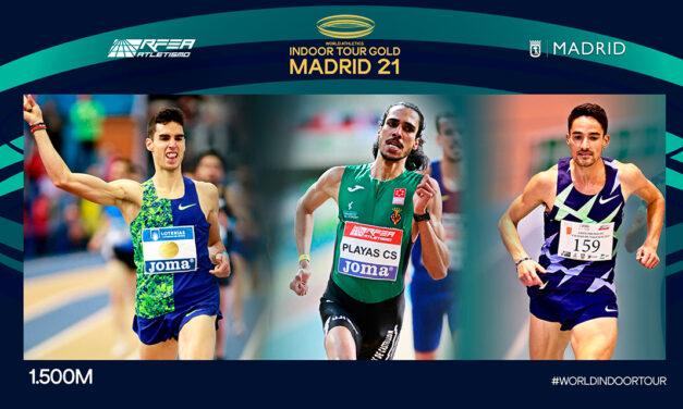European silver medalist Husillos and stellar 1500m trio to lead Spain's men field in Madrid