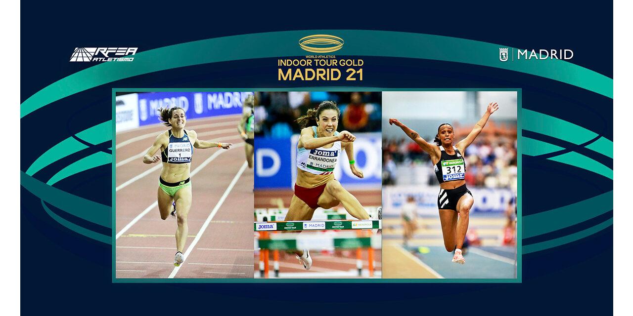 Las artistas del atletismo español, a escena en Madrid